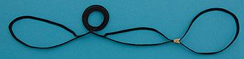 Rescokoppel svart 6mm
