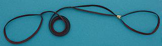 Rescokoppel tan 6mm