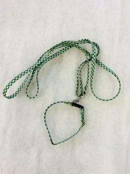 Koppelset i grön/vit. 9mm