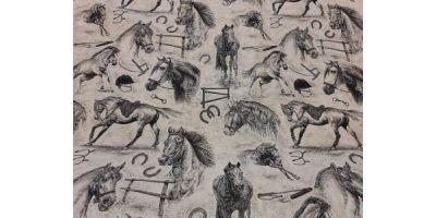 Minsta bädden med motiv Hästar