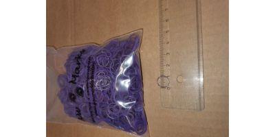 Latex snodd L 10-12mm lila