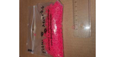 Latex snodd S 6mm rosa